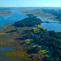Aerial Photography of The River Course on Kiawah Island