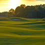 Sunset on the par 5 15th hole on Kiawah Island Club's Cassique Golf Course