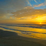 Sunrise over Kiawah Island Beach
