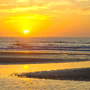 sunrise on Kiawah island beach